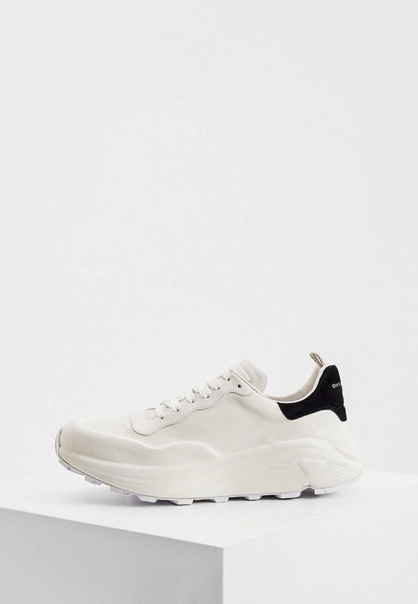 женские низкие кроссовки officine creative, белые