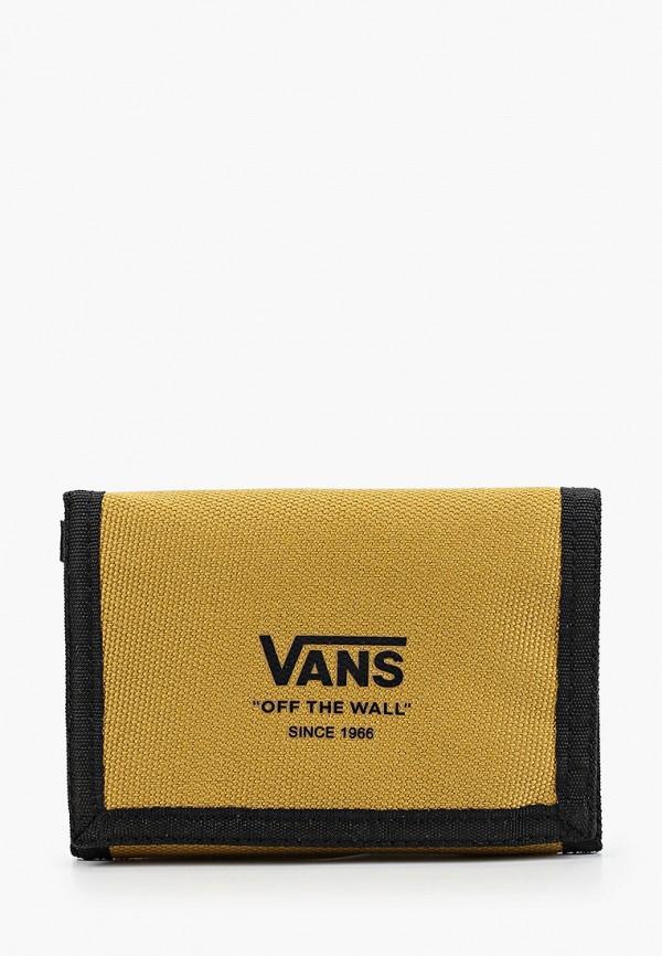 мужской кошелёк vans, бежевый