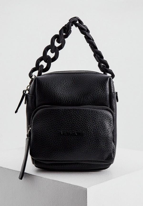 женский рюкзак vic matie, черный