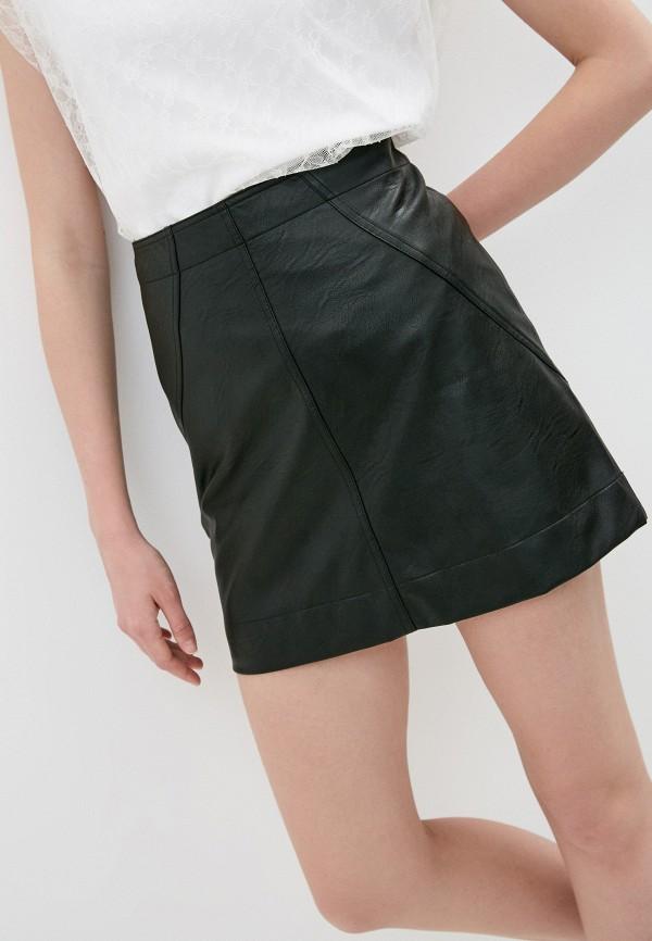 женская юбка-трапеции philosophy di lorenzo serafini, черная