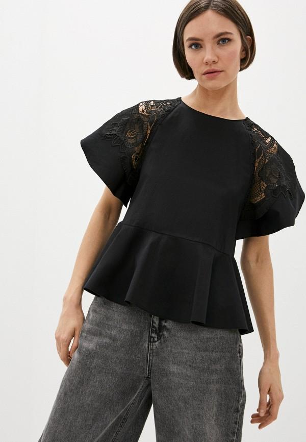 Блуза Alberta Ferretti Alberta Ferretti A02081623 черный фото