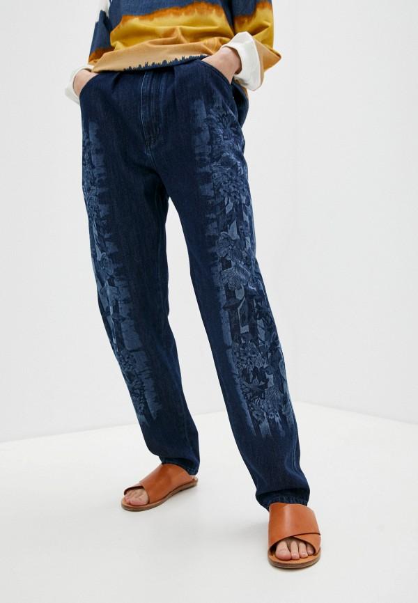 женские прямые джинсы alberta ferretti, синие