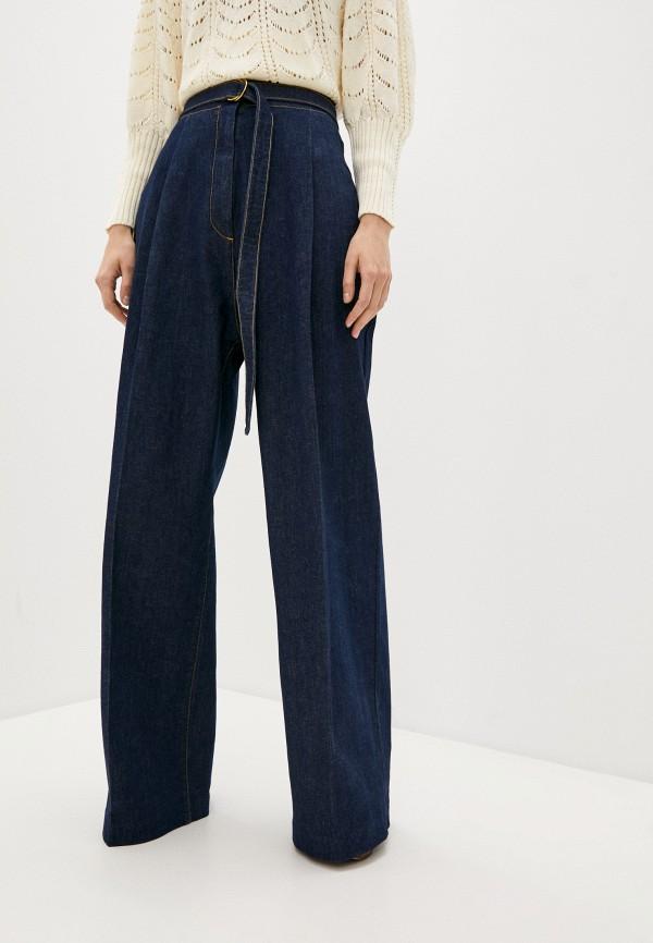 женские джинсы клеш philosophy di lorenzo serafini, синие