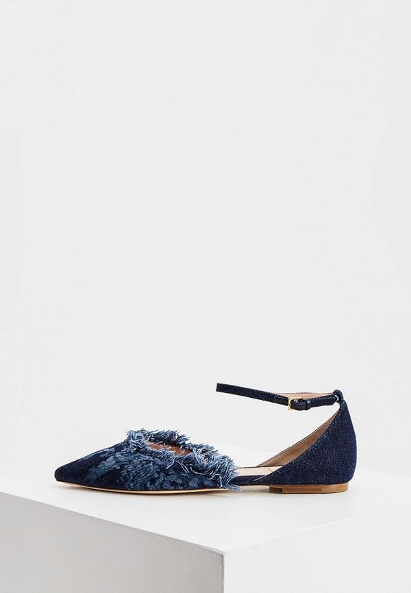 женские туфли alberta ferretti, синие