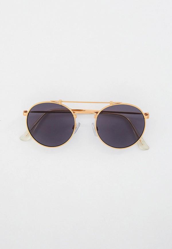 мужские солнцезащитные очки vans, золотые