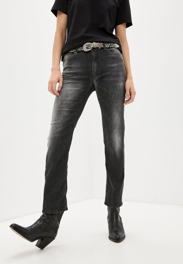 женские прямые джинсы dondup, серые