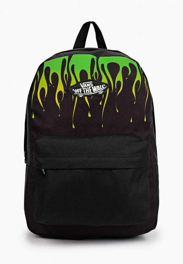 рюкзак vans для мальчика, черный