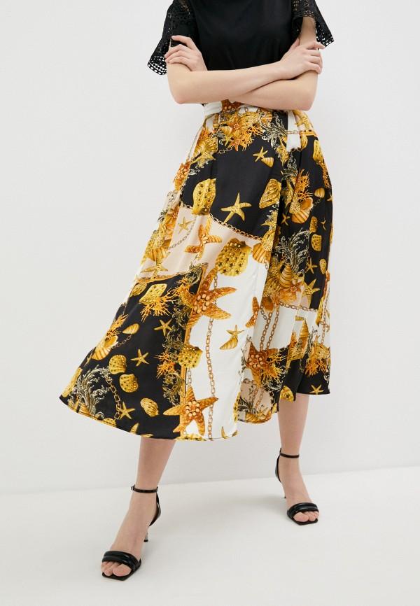 женская юбка twinset milano, разноцветная