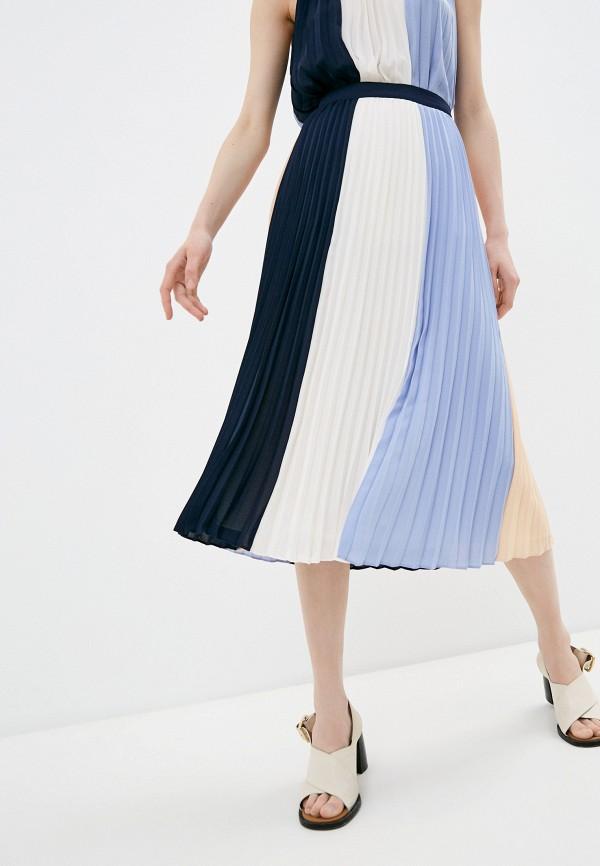 женская плиссированные юбка twinset milano, разноцветная