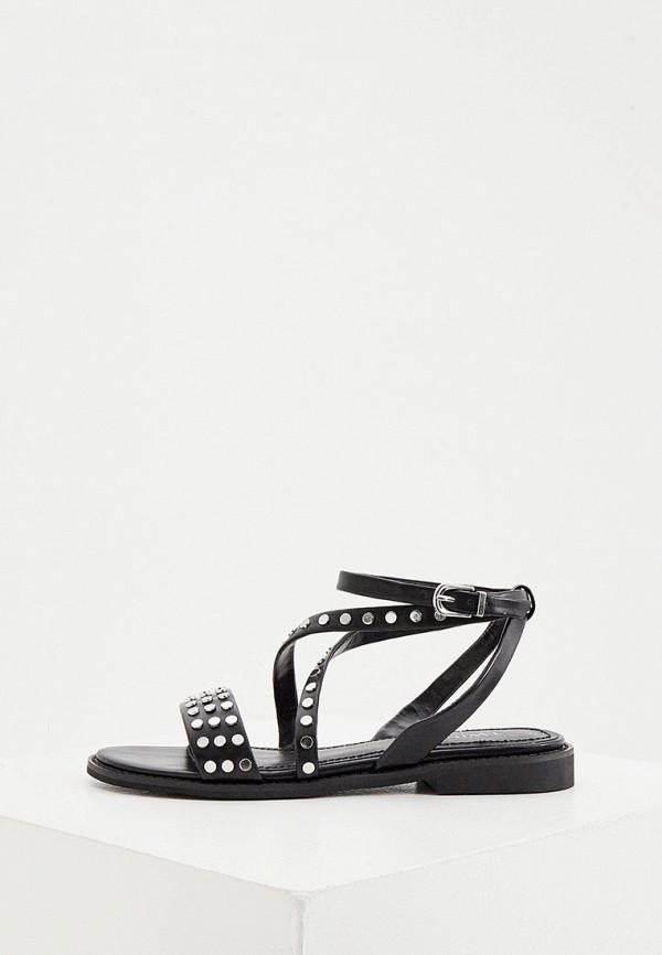 женские сандалии twinset milano, черные