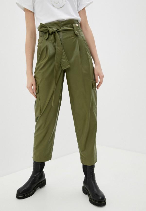 женские брюки twinset milano, зеленые