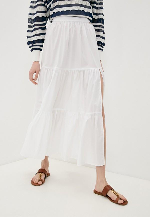 женская юбка twinset milano, белая
