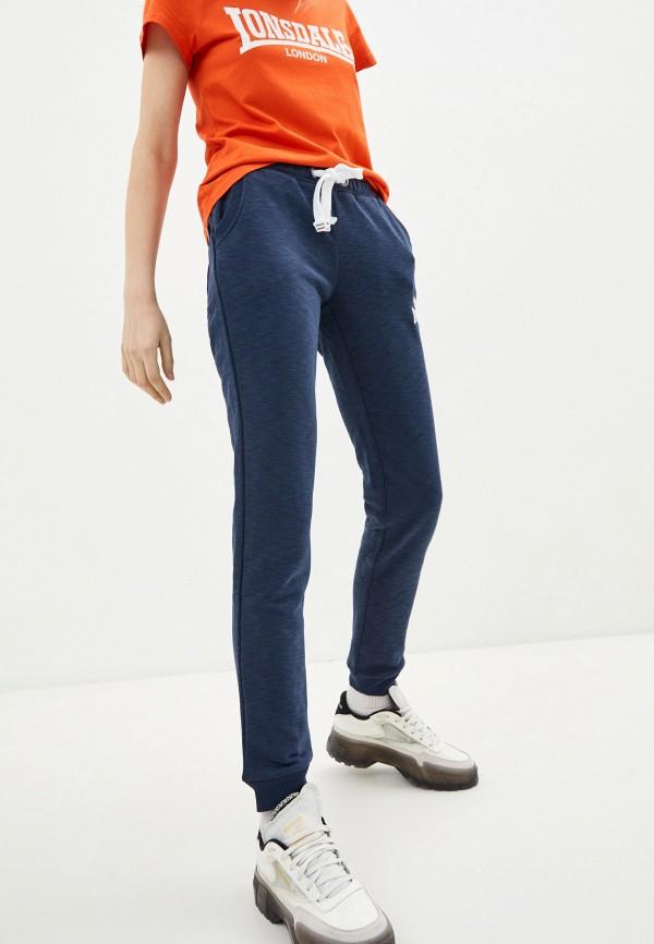 женские спортивные брюки lonsdale, синие