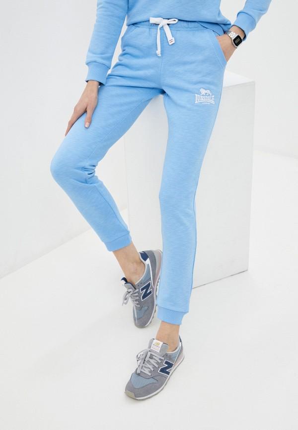 женские спортивные брюки lonsdale, голубые