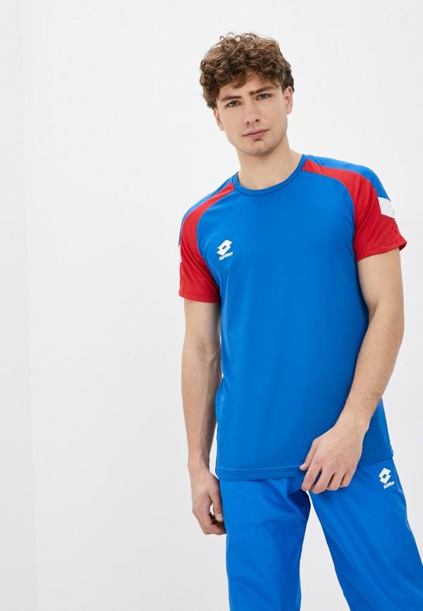 мужская спортивные футболка lotto, синяя