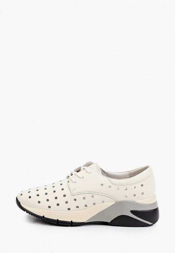 женские кроссовки la grandezza, бежевые