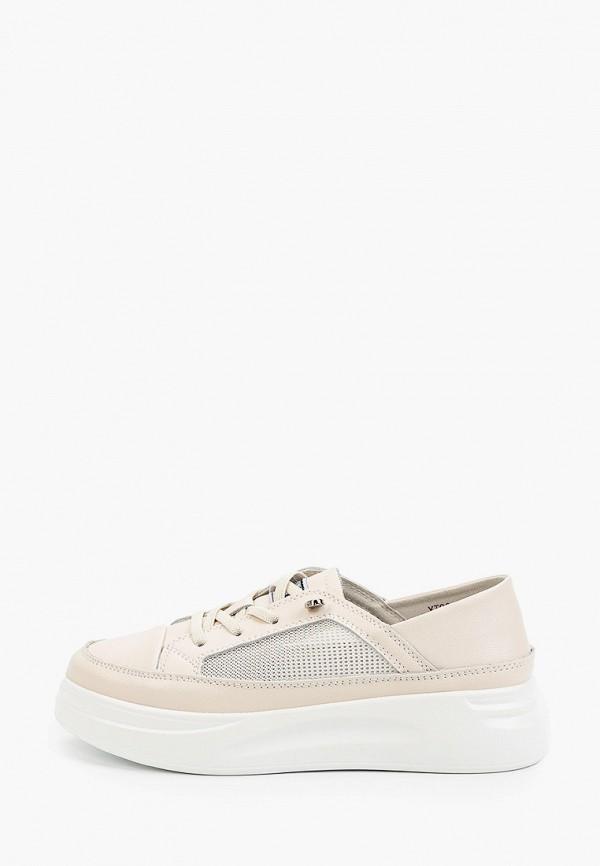 женские ботинки la grandezza, бежевые