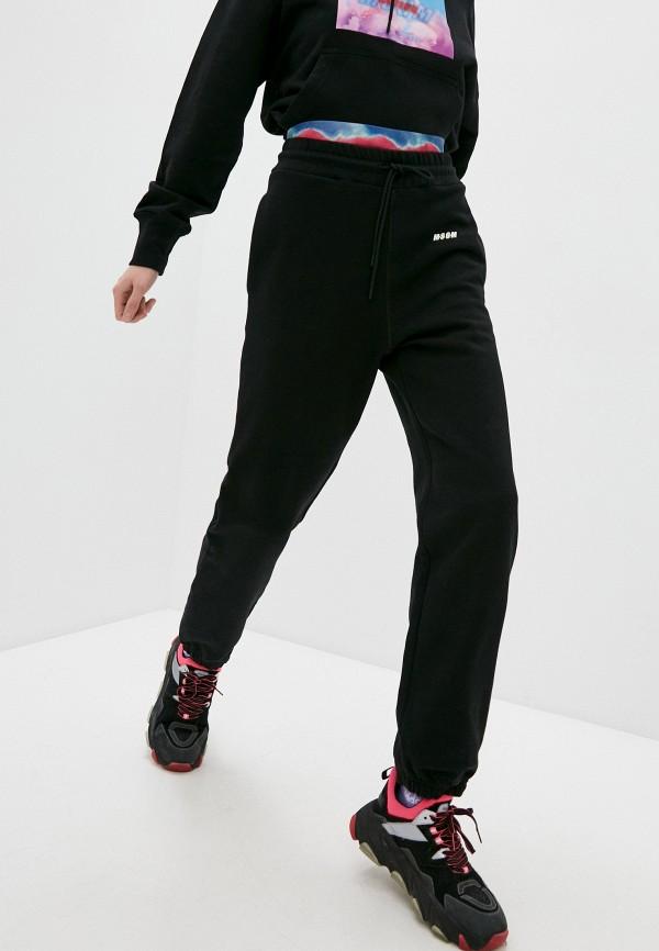 женские спортивные брюки msgm, черные