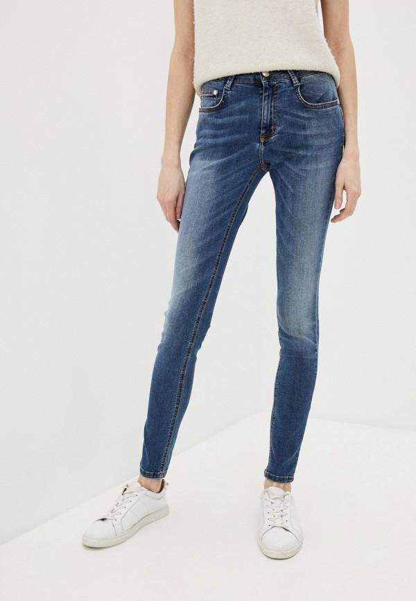 женские джинсы скинни harmont & blaine, синие