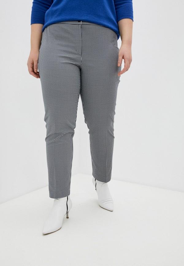 женские прямые брюки persona by marina rinaldi, разноцветные