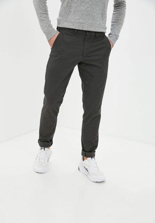 мужские брюки чинос gap, серые