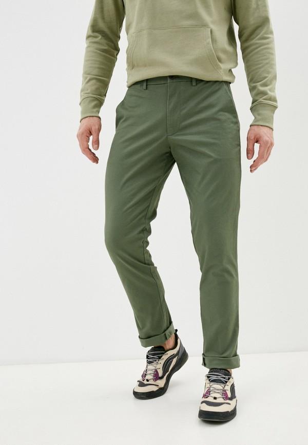 мужские брюки чинос gap, зеленые