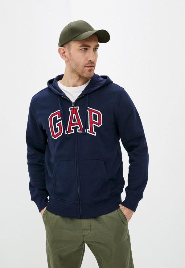 мужская толстовка gap, синяя