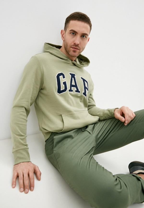 мужские худи gap, зеленые