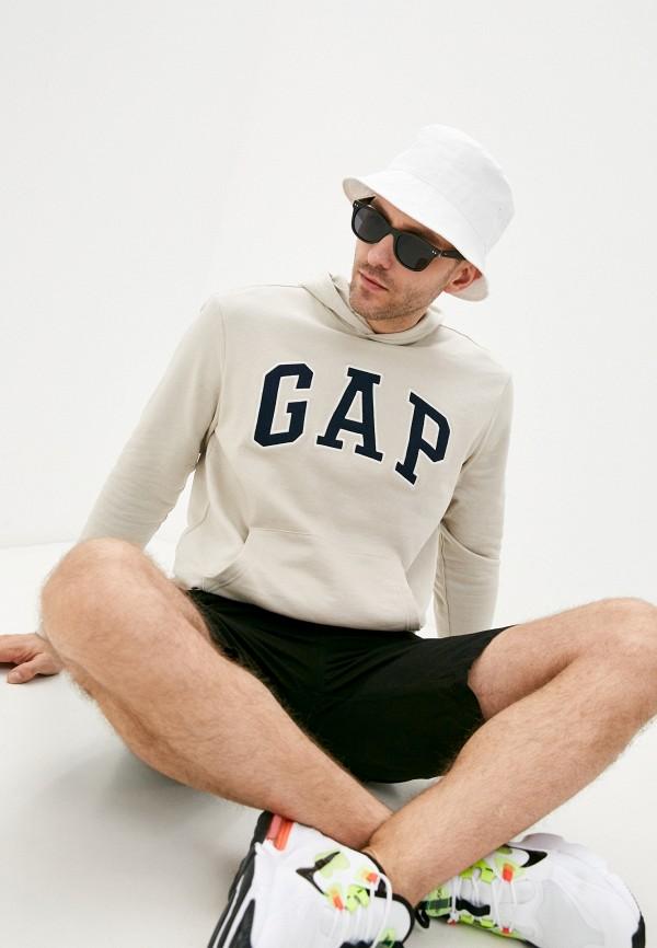 мужские худи gap, бежевые