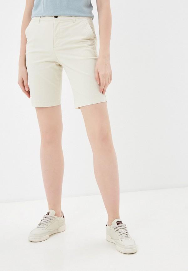 женские повседневные шорты gap, бежевые