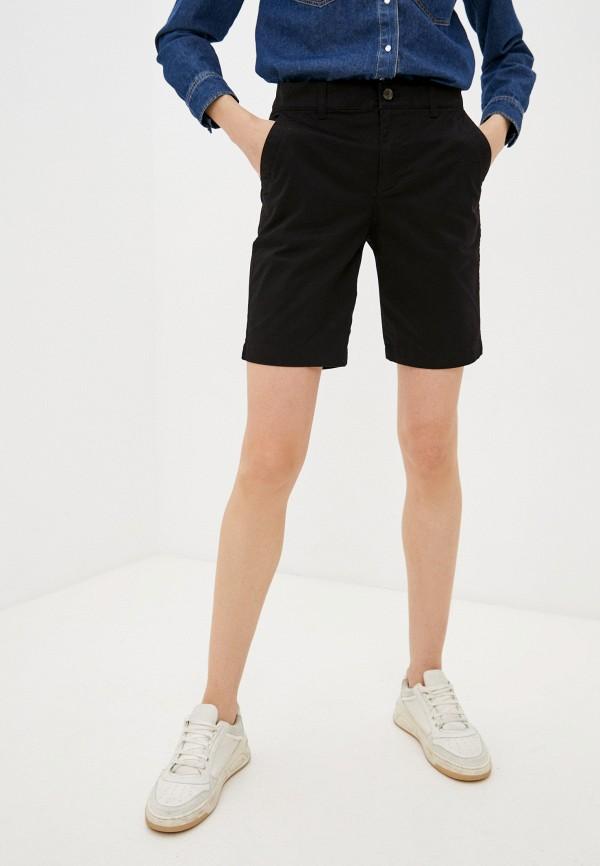 женские повседневные шорты gap, черные