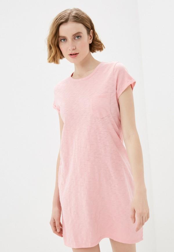 женское платье gap, розовое