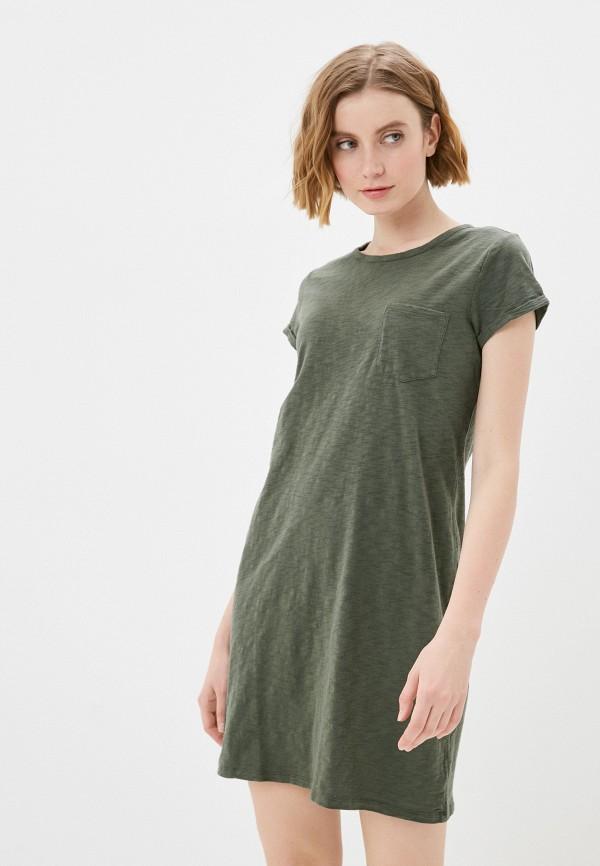 женское платье gap, хаки