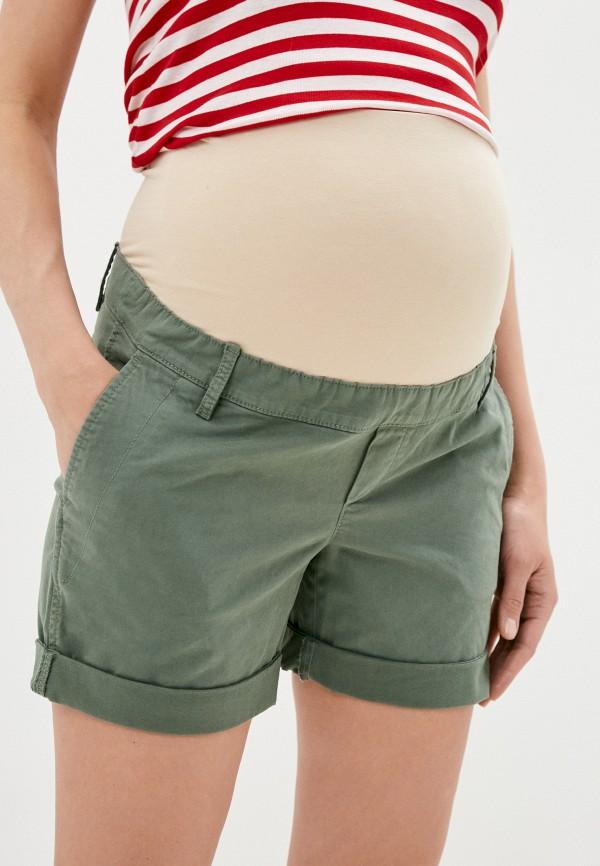 женские шорты gap maternity, хаки