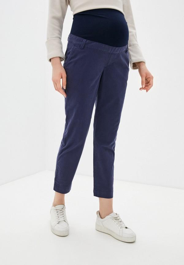 женские повседневные брюки gap maternity, синие