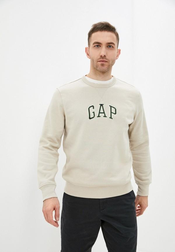 мужской свитшот gap, бежевый