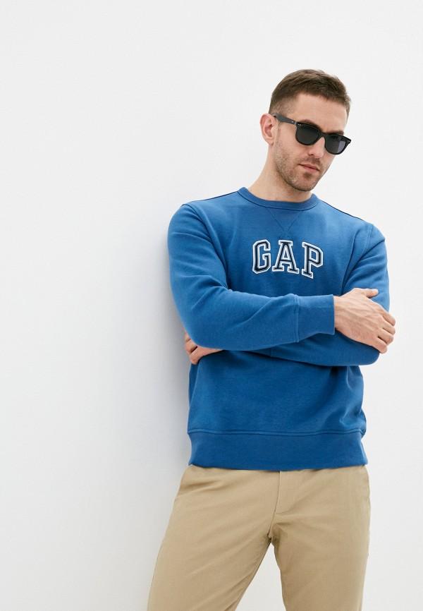 мужской свитшот gap, синий