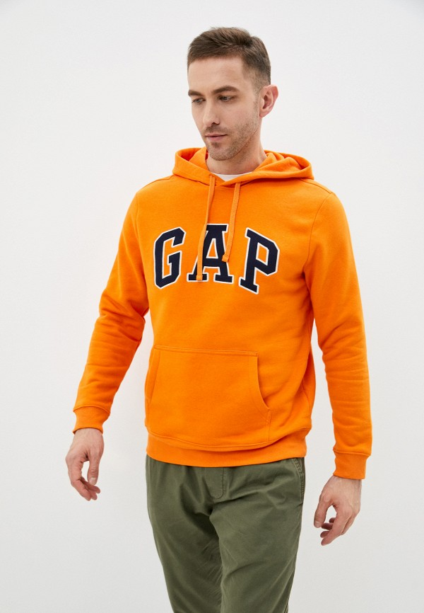 мужские худи gap, оранжевые