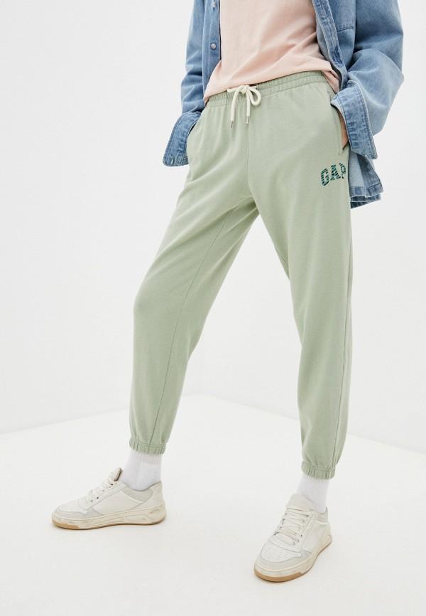 женские спортивные брюки gap, зеленые