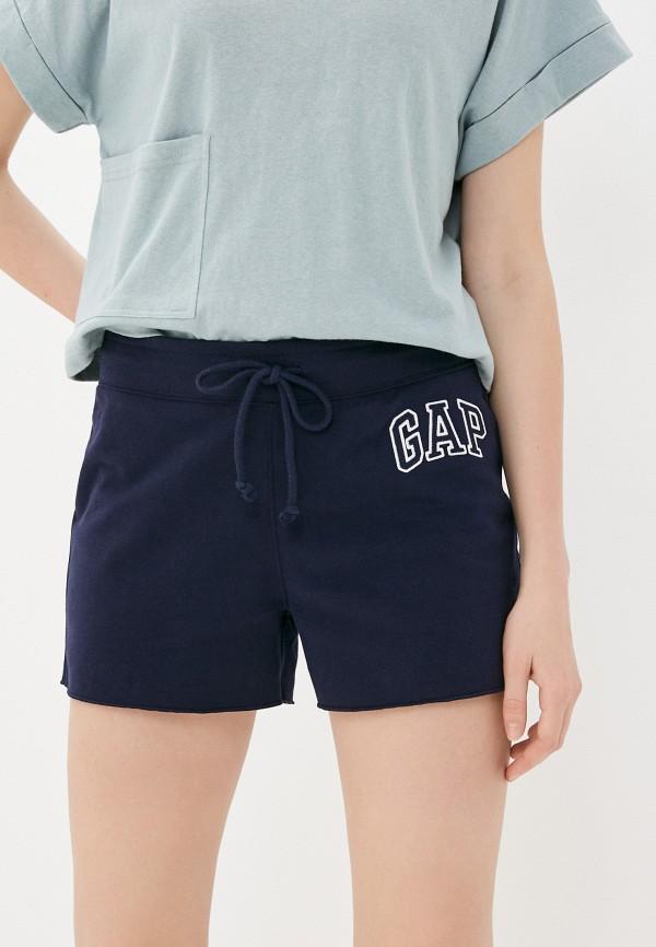 женские спортивные шорты gap, синие