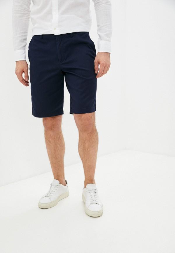 мужские повседневные шорты banana republic, синие