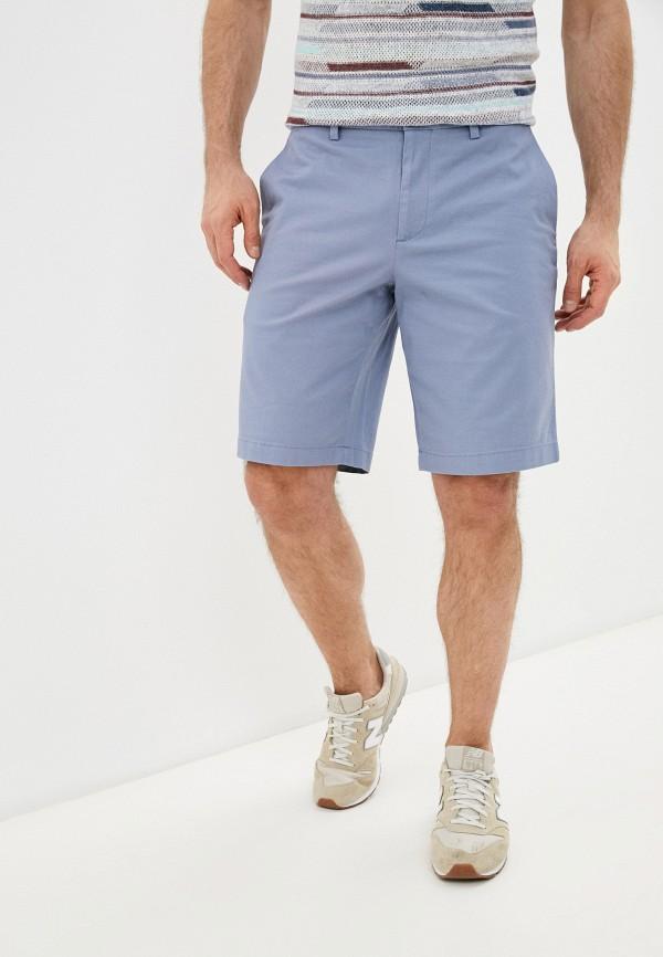 мужские повседневные шорты banana republic, голубые