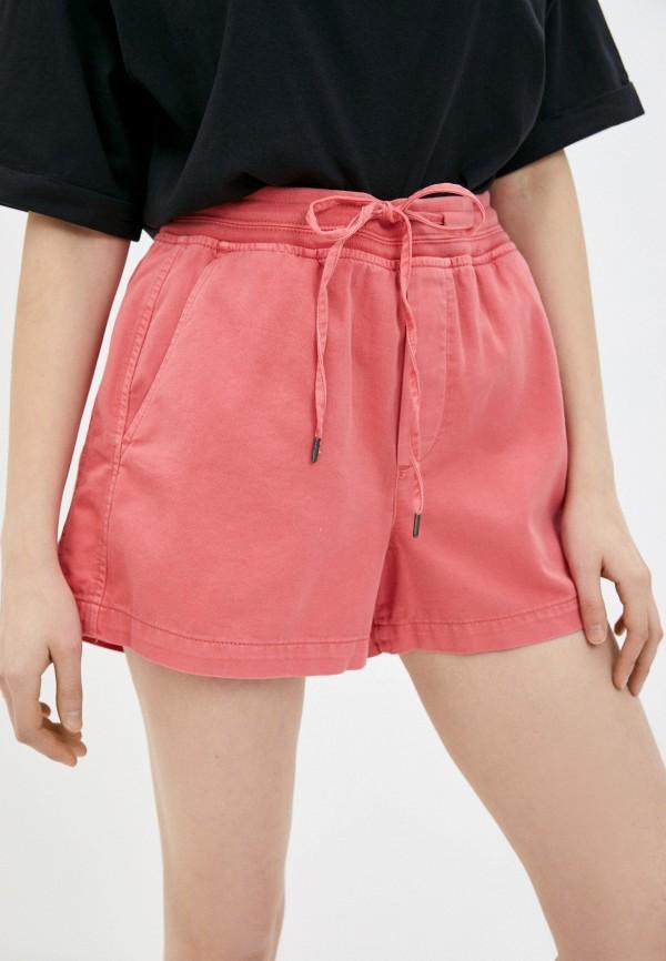 женские спортивные шорты gap, розовые