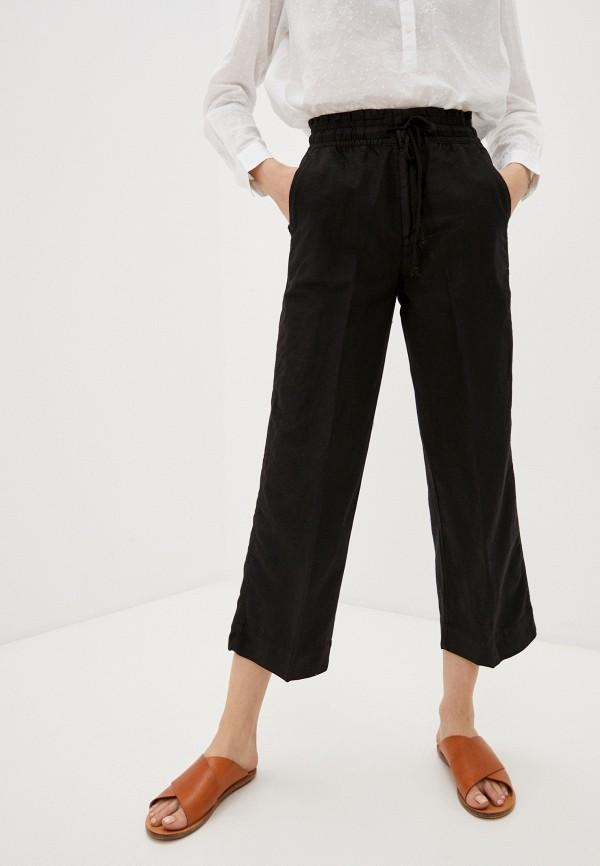 женские брюки клеш gap, черные