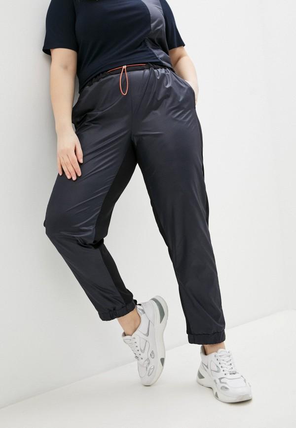 женские спортивные брюки persona by marina rinaldi, синие