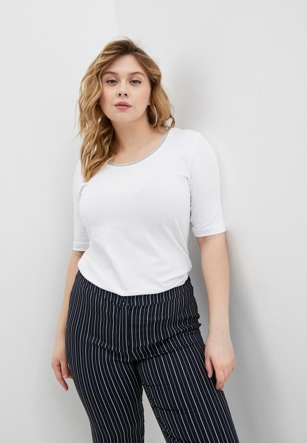 женская футболка persona by marina rinaldi, белая