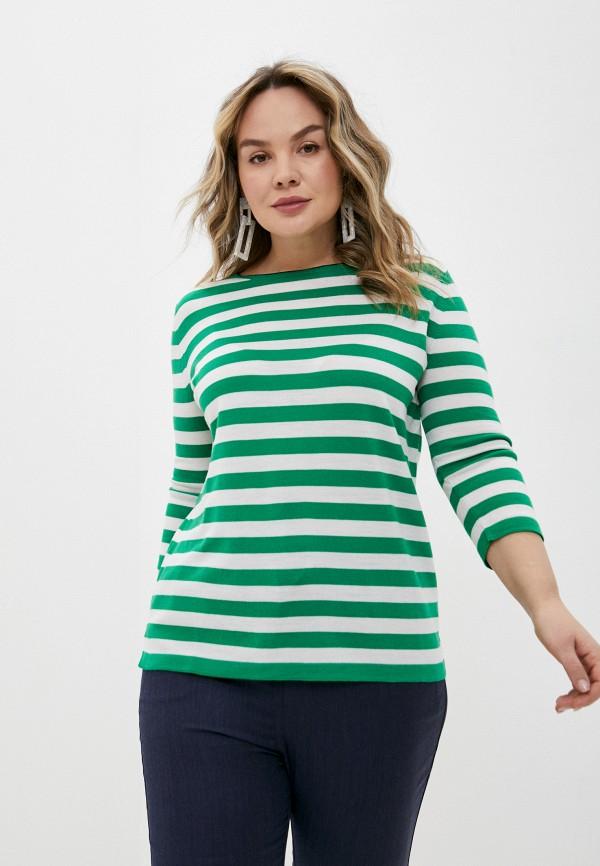 женский джемпер marina rinaldi voyage, зеленый