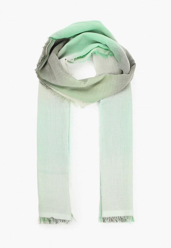 женский палантин marina rinaldi sport, зеленый
