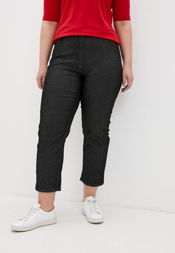 женские прямые джинсы persona by marina rinaldi, черные