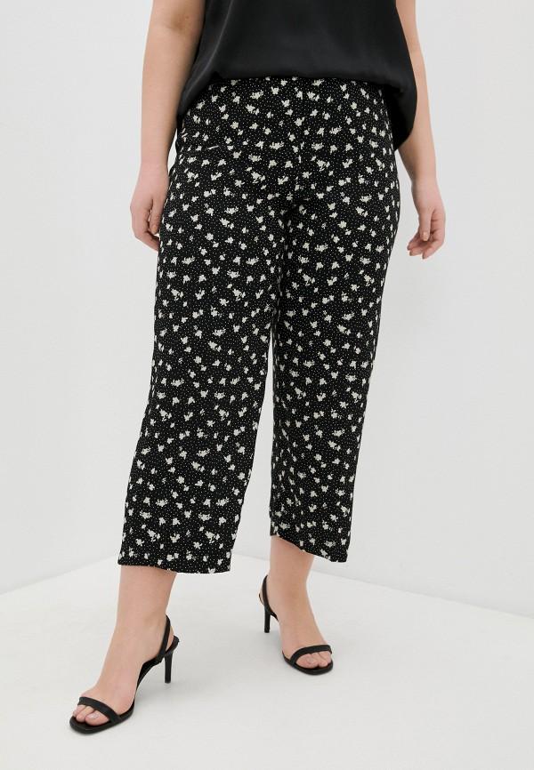 женские брюки клеш persona by marina rinaldi, черные